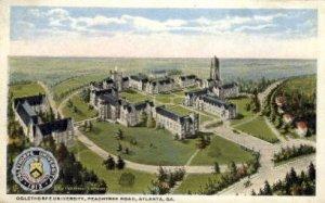 Oglethorpe University, Peachtree Rd. - Atlanta, Georgia GA