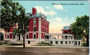 CAMBRIDGE, Massachusetts  MA    STILLMAN INFIRMARY  ca 1910s Postcard