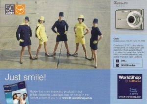 LUFTHANSA Flight Attendants, Historic Uniforms, LH, Pretty Stewardess, Airline
