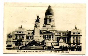 Argentina - Buenos Aires. Monument to the Two Congresses   *RPPC