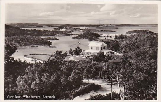 Bermuda View From Windermere Real Photo