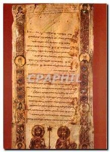 Postcard Modern Bari Exultet Sequenze finali dell Exultet Note mnemoniche
