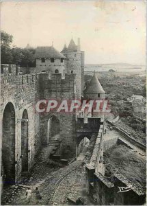 Postcard Modern Carcassonne Porte d'Aude
