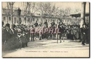 Old Postcard disaster Jena In & # 39attente the parade