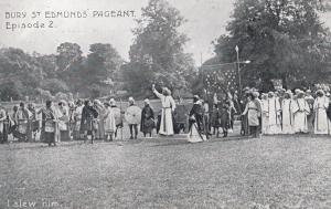 Confession To King I Slew Him Bury St Edmunds Pageant Suffolk Old Postcard