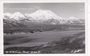 Alaska Mount McKinley Real Photo