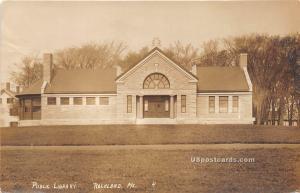 Public Library Rockland ME 1914