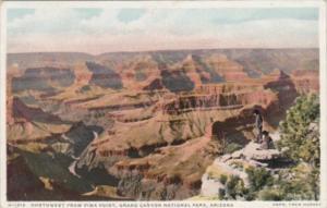 Fred Harvey Northwest From Pima Point Grand Canyon Arizona Detroit Publishing