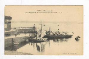 Loading Ships @ Port,Dinard,France 1900-10s