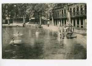 271194 AUSTRIA Bad VOSLAU resort Nude men Vintage postcard