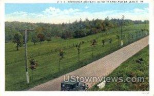 US 6, Roosevelt Highway - Mt Jewett, Pennsylvania