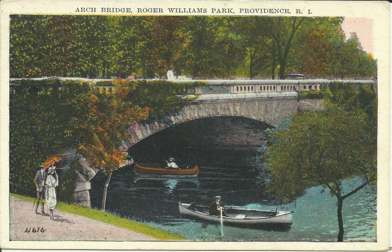 Providence, R.I., Roger Williams Park, Arch Bridge
