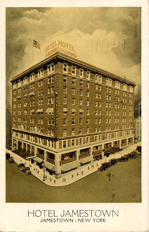 NY - Jamestown. Hotel Jamestown