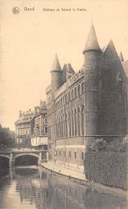 BG25855 gand chateau de gerard le diable   belgium