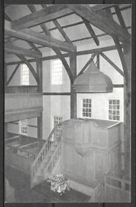 Massachusetts, West Barnstable - The West Parish Meetinghouse - [MA-311]