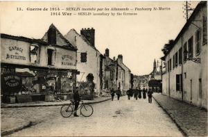 CPA Guerre de 1914 SENLIS Faubourg St-MARTIN (376812)