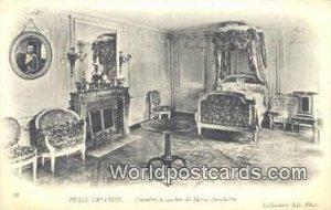 Chambre a Coucher de Marie Antoinette Petit-Trianon, France, Carte, Unused