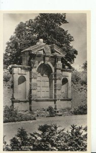 Northamptonshire Postcard - Kirby Hall, Ornamental Feature in Garden RP  18305A
