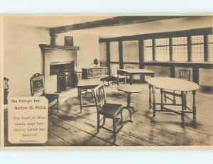Unused 1920's GEORGE INN - NORTON ST PHILIP? Bath England UK c6015
