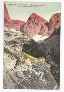Switzerland Tirol Alps Dolomites Rosengartengruppe Postcard