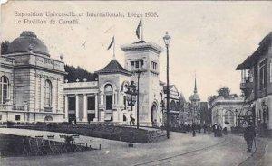 Belgium Liege Expo 1905 Le Pavillon de Canada