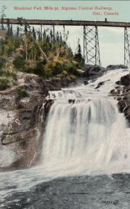 Ontario, Canada, 00-10s ; Montreal Fall, Mile 91, Algoma Central Railway Bridge