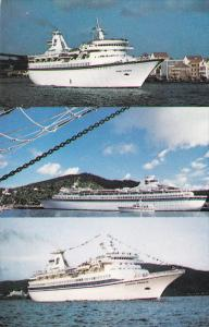 M/S Sun Viking, M/S Song of Norway and M/S Nordic Prince, Royal Carribean Cru...