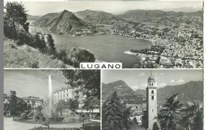Switzerland, Suisse, Lugano, 1959 used Postcard