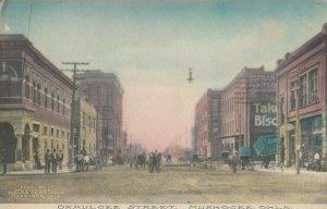 MUSKOGEE , Oklahoma , 1900-10s ; Okmulgee Street