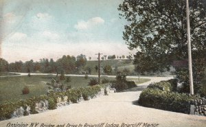 OSSINING , New York , 00-10s ; Drive to Briarcliff Lodge