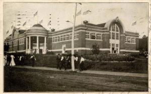 IA - Des Moines. Iowa State Fairgrounds, Agriculture Building, 1906