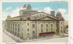 Colorado Denver Municipal Auditorium Curteich