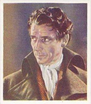 Godfrey Phillips Cigarette Card Characters Come To Life No 7 Ronald Colman as...