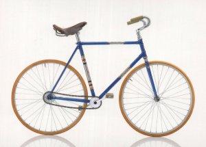 Rabeneick West German 1955 Bicycle Bike Cycle Postcard