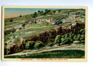 171874 ISRAEL Palestine JERUSALEM Hinnom valley Vintage