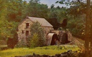 MA - South Sudbury. Wayside Inn Grist Mill