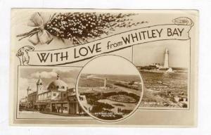 LIGHTHOUSE , Spanish City, War memorial, WHITLEY BAY, UK, PU-1956