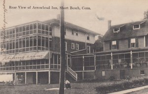 COSEY BEACH , Conn. , 00-10s ; Rear View of Arrowhead Inn