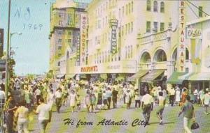 New Jersey Atlantic City Hi From Atlantic City 1969