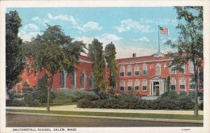 Massachusetts Salem Saltonstall School