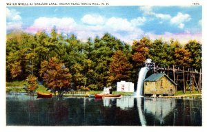 New Hampshire  White Mtns. Water Wheel at Shadow Lake