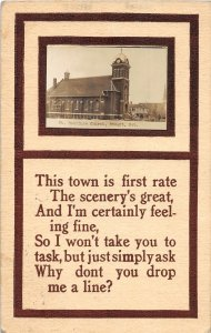 F97/ Stuart Nebraska RPPC Postcard c1910 St Boniface Church 8
