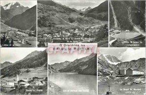 Modern Post Card Orsieres Grand Saint Bernard