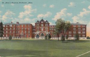 ROCHESTER , Minnesota, 1911 ; St Mary's Hospital