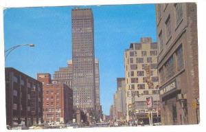 Dorchester Street With The Canadian Imperial Black Of Commerce Building, Mont...