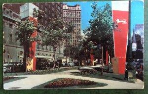 PC Statler Hotel Washington Boulevard, Detroit Michigan Mich. MI