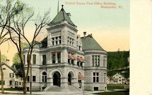 VT - Montpelier. U. S. Post Office Building