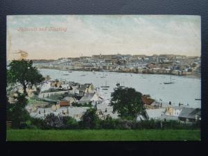 Cornwall FALMOUTH & FLUSHING c1910 Postcard by Valentine 7611XJV
