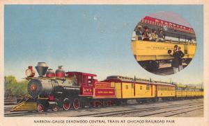 Chicago Illinois~Deadwood Central Train~Poker Alice~Nice 1948 Railroad Fair RPO