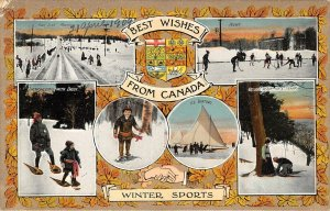 br105517 winter sports best wishes from canada montreal